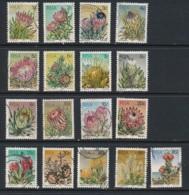 SOUTH AFRICA, 1977 Flowers Set Fine - Afrique Du Sud (...-1961)