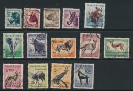 SOUTH AFRICA, 1954 Animals Set Fine, Cat GBP8 - Afrique Du Sud (...-1961)