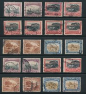 SOUTH AFRICA, 1927 Recess Issue P14 And P13.5x14 Fine, Cat GBP16 - Afrique Du Sud (...-1961)