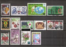 Bénin ( Lot De Timbres Divers Différents Oblitérés ) - Bénin – Dahomey (1960-...)