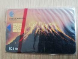 MONTSERRAT  $10,- $20,-  CHIPCARD  VULCANO  Gem 5   MINT SEALED CARDS   ** 2724 ** - Montserrat