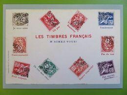 PAP - Carte Postale Pré-timbrée - Timbre International - Langage Des Timbres - 2020 - NEUVE - Documents De La Poste