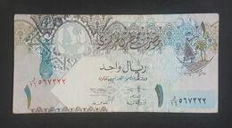 RS - Qatar 1 Riyal Banknote 2003 #O/16 567322 - Qatar