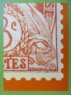 Feuillet Gommé Phil@poste Reproduisant Le Timbre Type Blanc De 1900 - Quart Inférieur Droit - Neuf - Philaposte - Documentos Del Correo