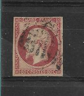 FRANCE  N° 17A  OBLITERE  1 CLAIR - 1853-1860 Napoleone III