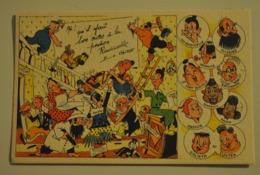 BD Bande Dessinées Vaillant La Pension Radicelle  Carte N° 1 - Comics