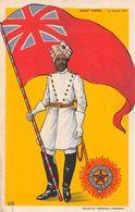 Soldat Hindou - Armée Britannique - Inde - Sikhs - Guerre 1914-18 - Heaven's Light Our Guide - Ed. Lausanne - Guerre 1914-18