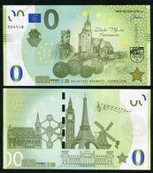 02 SLOVAKIA-Memo Euro KREMNICA-Kremnitz Goldstadt-Golden City Taler 5000 Pcs News-Nouvelles 2020 - Privatentwürfe