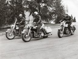 FO-00342- FOTO  ORIGINALE MOTOCICLETTE  HARLEY DAVIDSON - Fotos