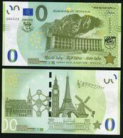 03 SLOVAKIA-Memo Euro VYSOKE TATRY-High Tatras-Hohe Tatra Hotel 5000 Pcs News-Nouvelles 2020 - Privatentwürfe