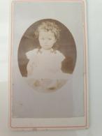 Cdv Ancienne Années 1800 Portrait D Enfant - Oud (voor 1900)