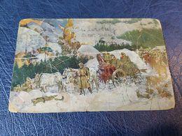 1642. Carte Postale Postcard Kralj Petar I Put Kroz Albaniju King Peter I , Crossing Albania - 1919-1929 Royaume Des Serbes, Croates & Slovènes