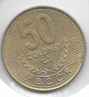 *costa Rica 50 Colones  2002 Km 231.1a    Xf+/ms60 - Costa Rica