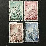 ◆◆◆ Taiwán (Formosa) 1958 President's Mansion,Taipei  Series Complete USED    AA7934 - Usati