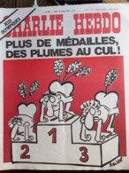 Charlie Hebdo Cabu Wolinski Reiser  N° 297 Jeux Olympiques - Humour