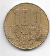 Costa Rica 100 Colones  1999   Km 230a.1 - Costa Rica