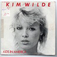 """Kim Wilde (1981)  """"Kids In America  -  Tuning In Tuning On"""" - Dischi In Vinile"""