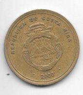 *costa Rica 100 Colones  2000   Km 240 - Costa Rica