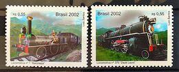 Brazil Stamp C 2488 Old Train Locomotive Baroneza Zezé Leoni 2002 - Ungebraucht