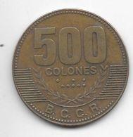 *costa Rica 500 Colones  2007   Km 239.1a - Costa Rica