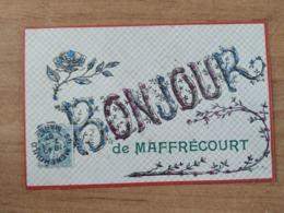 CPA - Maffrécourt (51) - Bonjour Reliefs Pailletes - Cartoline