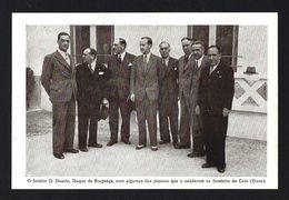 Postal D.DUARTE NUNO Duque De Bragança Fronteira CAIA / ELVAS 28 Maio 1942. Claimant Portuguese Throne PORTUGAL - Familles Royales