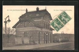CPA Chaville Velizy, La Gare - Chaville