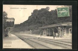 CPA Chaville, La Gare - Chaville