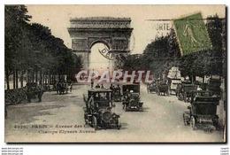 Paris CPA Avenue Des Champs Elysees - District 08