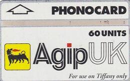 UK(L&G) - Tiffany/Agip UK(CUR033, 60 Units), CN : 560K, Used - Petrolio