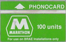 UK(L&G) - Brae, Marathon 100 Units, CN : 307L, Used - Petrolio