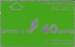 UK(L&G) - British Gas 40 Units, Tirage %17500, CN : 968B, Used - Petrolio