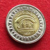 Egypt 1 One Pound 2019 Ministry Of Social Solidarity Egipto Egypte Egito Egitto Ägypten UNC ºº - Egitto