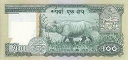 NEPAL P. 34c 100 R 1985 UNC - Nepal