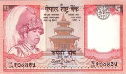 NEPAL P. 53abc 5 R 2003 UNC (3 Billets) - Nepal