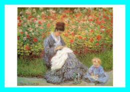 A758 / 015 Tableau Claude MONET - Peintures & Tableaux
