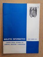 CAMARA OFICIAL ESPAÑOLA DE COMERCIO INDUSTRIA Y NAVEGACION 1973 URUGUAY - Scienze Manuali