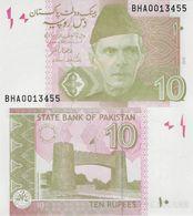 Pakistan 2019 - 10 Rupees - Pick NEW UNC - Pakistan