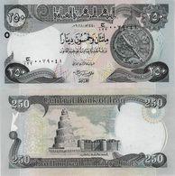 Iraq 2018 - 250 Dinars - Pick NEW UNC - Irak