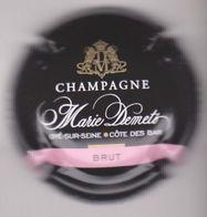 Capsule Champagne DEMETS Marie ( 14 ; Noir Barre Rose , Brut ) {S30-20} - Champagne