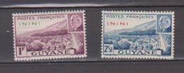 ININI   N°  YVERT  :    51/52    NEUF AVEC  CHARNIERES      ( Ch  3 / 08 ) - Unused Stamps