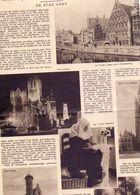 Orig. Knipsel Coupure Artikel Tijdschrift Magazine - Geen Rijker Kroon Dan Eigen Schoon : De Stad Gent - 1930 - Oude Documenten