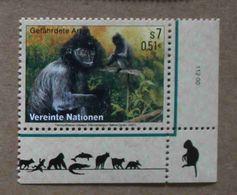 Vi01-01 : Nations-Unies (Vienne) / Protection De La Nature - Semnopithèque à Coiffe (Trachypithecus Cristatus) - Vienna – International Centre