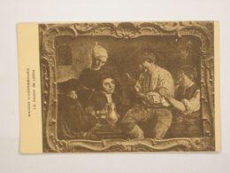 Liège : Musée D'Assembourg - Le Joueur De Cartes - Pintura & Cuadros