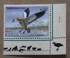 Vi03-01 : Nations-Unies (Vienne) / Protection De La Nature - Oie D'Egypte (Alopochen Aegyptiacus) - Vienna – International Centre