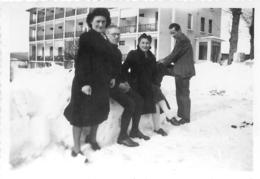 HAUTEVILLE 1945 PHOTO ORIGINALE 8.50 X 6 CM - Places