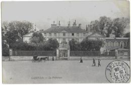 SAINT-LO - LA PREFECTURE - BIEN ANIMEE - 1906 - Saint Lo