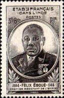 Inde Poste N** Yv:234/235 Félix Eboué - Neufs