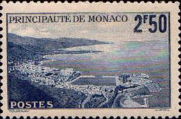 Monaco Poste N** Yv: 179A Mi:236 La Principauté (Dent 1 Peu Courte) - Monaco