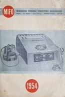 Catalogo MIFO - Magazzini Italiani Forniture Orologerie - Milano - 1954 - Unclassified